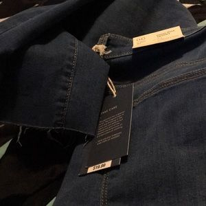 high rise, skinny jeans